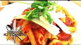 Chorizo And Roast Vegetable Pasta