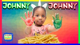 Kyraboo Wash Your Hands  Johnny Johnny, Yes Papa Nursery Rhyme