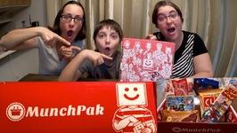 MunchPak - Foreign Snacks Taste Testing Box /Gay Family Mukbang-Eating Show