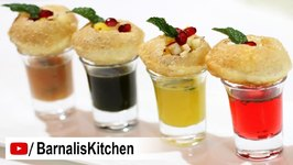 Panipuri Shots / Pani Puri - Golgappa Shots / How To Make Panipuri Shots