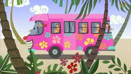 Wheels On The Bus - Kindergarten Nursery Rhymes For Children - Bus Songs For Toddlers