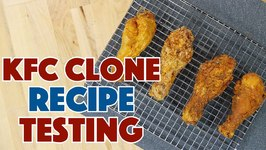 Cloning KFC Secret Recipe - KFC At Home Episode - 4