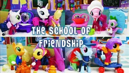 My Little Pony School Of Friendship Collection Pack With Apple Bloom Sweetie Belle And Scootaloo