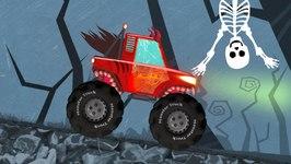 Halloween Special Monster Trucks For Kids