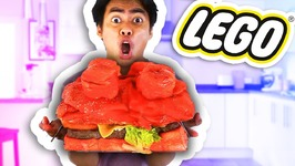 DIY How To Make GIANT LEGO BURGER