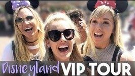 DISNEYLAND VIP TOUR with Alisha Marie and Ashley Nicole  My First Vlog!