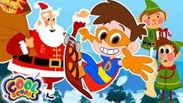 The North Poles Frozen Over - A Stupendous Drew Pendous Superhero Story - Cartoons for Kids