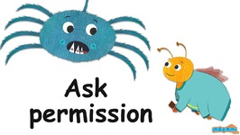 Ask For Permission - Etiquette And Manners For Kids - Ask Coley Tips - Educational Videos