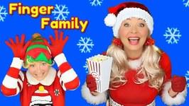 Christmas Finger Family Song - Santa Finger Family with Santa Dance  Nursery Rhymes for Kids