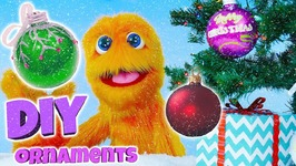 Fuzzy Puppet Christmas Special - DIY Christmas Decorations - DIY Christmas Gifts
