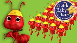 Ants Go Marching - Nursery Rhymes