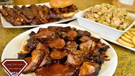 BBQ Country Style Ribs, BBQ Brisket And BBQ Chicken Recipes -TAILGATING Recipes