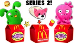 UGLY DOLLS Get Cutetitos Series 2 McDonald's Happy Meals - Surprise Toys Game