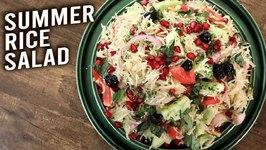 Summer Rice Salad / How To Make Rice Salad / Healthy Salad Recipe / Veg Salad / Varun