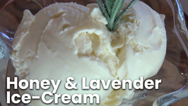Honey And Lavender Ice-Cream