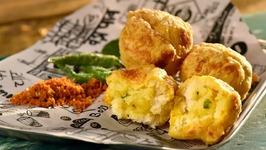 How To Make Vada Pav Balls - Snacks Of Mumbai - Homemade Vada Pav