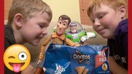 Toy Story 4 - Magic Door Doritos - Woody Buzz Lightyear - Disney Pixar