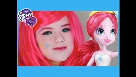 My Little Pony Pinkie Pie Makeup Tutorial - Equestria Girls Doll Cosplay