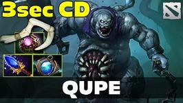 Qupe Pudge 3 sec CD HOOK Dota 2