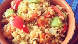Easy Quinoa Pulao / Warm Quinoa Salad
