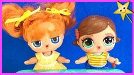 Bonnie & Gabby Gabby Welcome New Students w/ Pop Pop Hair Surprise