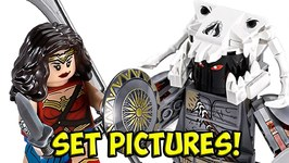 LEGO Wonder Woman Warrior Battle Set Pictures