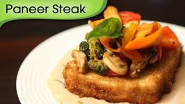Paneer Steak - Easy To Cook Veg Maincourse Recipe By Ruchi Bharani