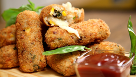Potato Croquettes Recipe  Easy To Make Snack Recipe  The Bombay Chef - Varun Inamdar