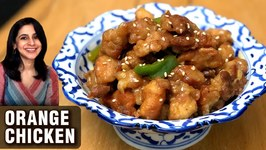 Orange Chicken Recipe - How To Make Chinese Orange Chicken - Chicken Snack Recipe By Chef Tarika