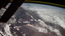 Italian Astronaut Aboard Space Station Shoots Timelapse from Somalia to Russia