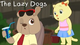 Three Little Kittens Vs The Lazy Dogs - Cutians Cartoon Comedy Shows For Kids
