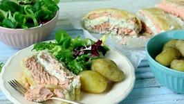 Creamy Salmon En Croute