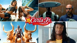15 All The Best Carls Jr Funny Burger Commercials Ever