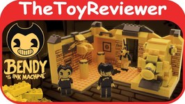 Bendy and the Ink Machine Room Buildable Scene Set Legos Build Unboxing Toy Review