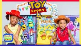 Toy Story 4 Carnival in Real Life  Kamdenboy & Kyraboo