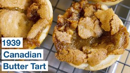 1939 Canadian Butter Tart Recipe