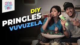 DIY Pringles Vuvuzela Ft. Shanice Shrestha