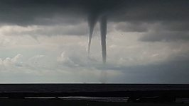Numerous Funnel Clouds Spotted Off Coast of Sochi
