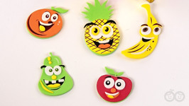 Learn Fruits With Surprise Box- Fun Learning For Kids