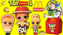 Toy Story 4 Dolls goto CARNIVAL  McDonalds get HAPPY MEAL SURPRISE TOYS