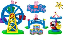 PEPPA PIG GOES TO THE FAIR! Win Peppa Pig Secret Surprise Blind Boxes  Toys