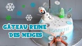 Gâteau Reine Des Neiges - Frozen Cake - Cake Design