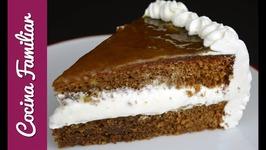 Tarta de chocolate con nata - Pastel de chocolate