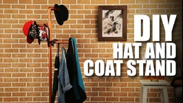 DIY Hat And Coat Stand