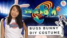 SPACE JAM: Bugs Bunny Costume - DIY Halloween Costume Tutorial - Space Jam 1 & Space Jam 2