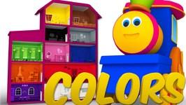 Bob The Train - Bob Colors Song - Nursery Rhymes - Kids Songs - Baby Videos
