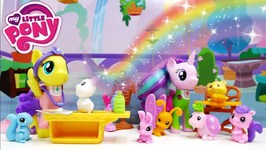 My Little Pony Fluttershy And Starlight Glimmer Pet Care Class Playset