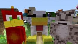 Minecraft Xbox - Survival Madness Adventures - Crazy Chicken Craziness 266