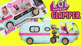 LOL Surprise Glamper 2-1 Van Unboxing and Review! Exclusive Doll Inside  OMG Neonlicious Toy