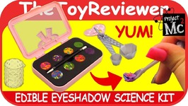 DIY Project Mc2 Edible Eye Shadow Science Kit Candy School Hack Unboxing Toy Review